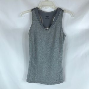 DANSKIN NOW GREY SIZE SMALL ATHLETIC TANK TOP